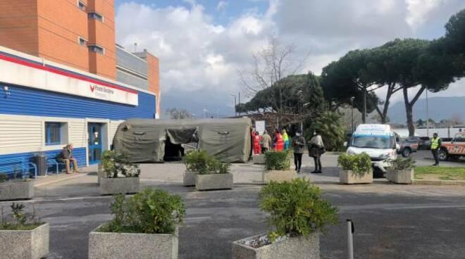 Ospedale Versilia Covid 19