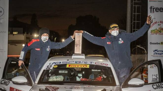 Paolo Andreucci Anna Andreussi rally Tuscan Rewind