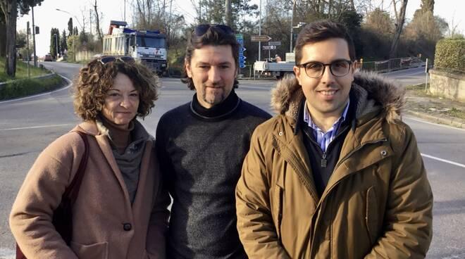 Paolo Gandola consigliere città metro di firenze con testai e ramello