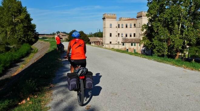 Percorso per cicloescursionisti Garfagnana