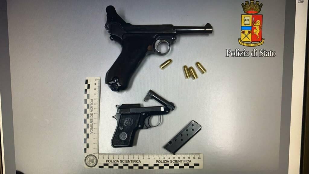 Pistole arresto Livorno