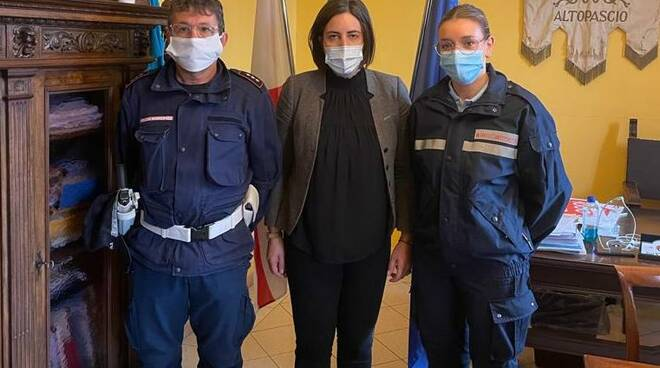 polizia municipale Altopascio nuova agente