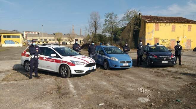 polizia, municipale e carabinieri