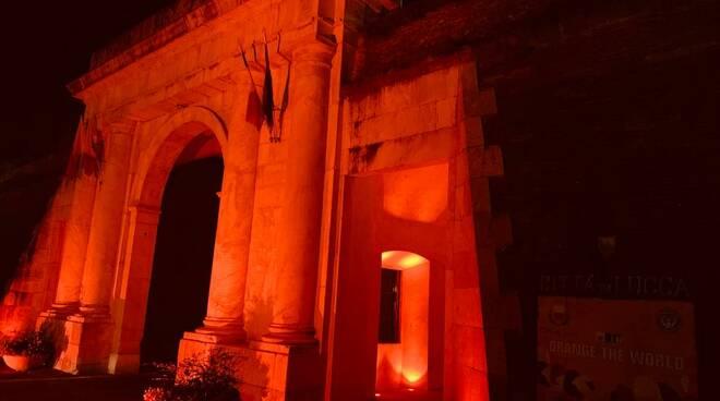 porta Elisa arancione