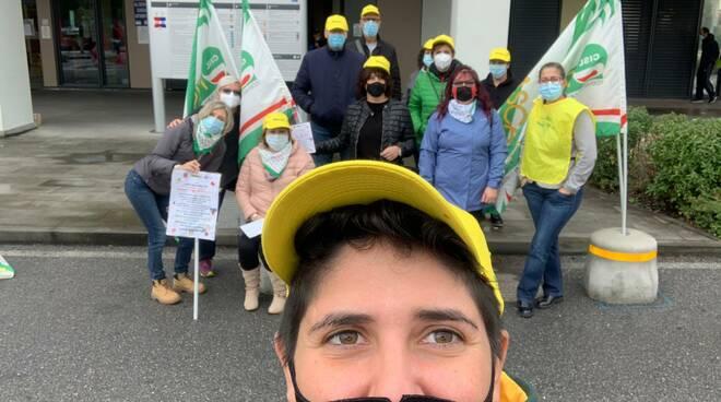 protesta aziende servizi ospedale castelnuovo