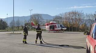 Ricerche della ragazza scomparsa a Orentano, la base operativa