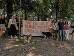 San Concordio protesta parco Montagnola