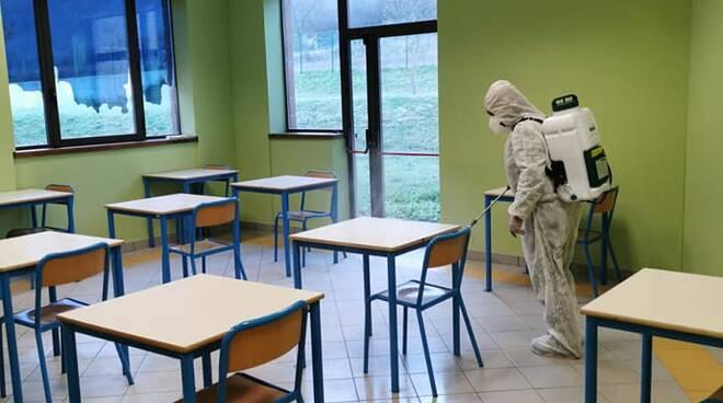 Sanificazione scuole Minucciano