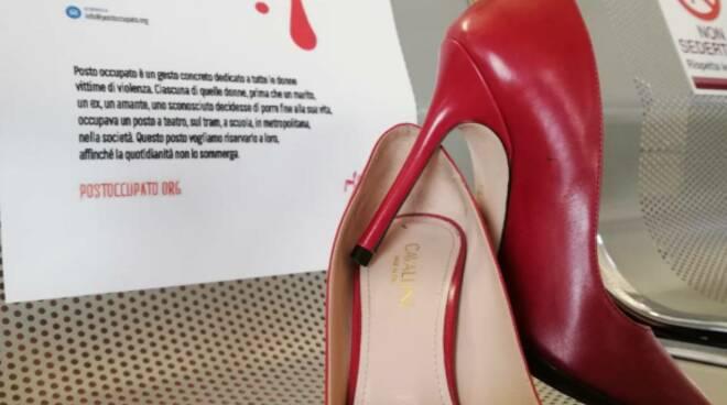 scarpe rosse fucecchio contro la violenza sulle donne