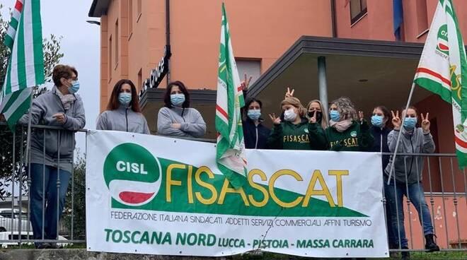 Sit-in ospedale Castelnuovo