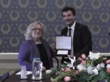 Stefano Baccelli con Edda Bresciani