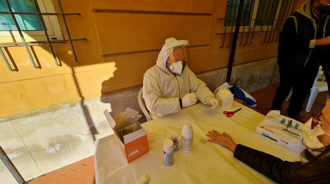 test sierologici rapidi Lions Club Garfagnana Fornaci di Barga