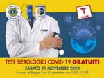 test sierologico Lions Club Garfagnana