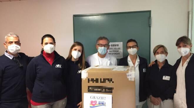 ventilatore polmonare donato dall'Andrea Bocelli Foundation al San Giovanni di Dio
