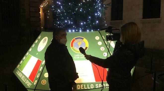 albero dello sport piazza Guidiccioni Lucca