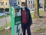 Alessandro Di Vito Dae defibrillatore mura Lucca
