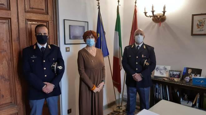 Andrea Boschetti Christian Perotti viceispettori questura di Lucca
