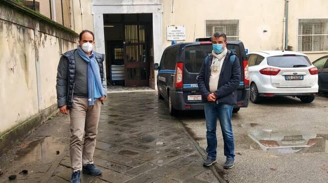 Andrea Marcucci Stefano Baccelli carcere di Lucca
