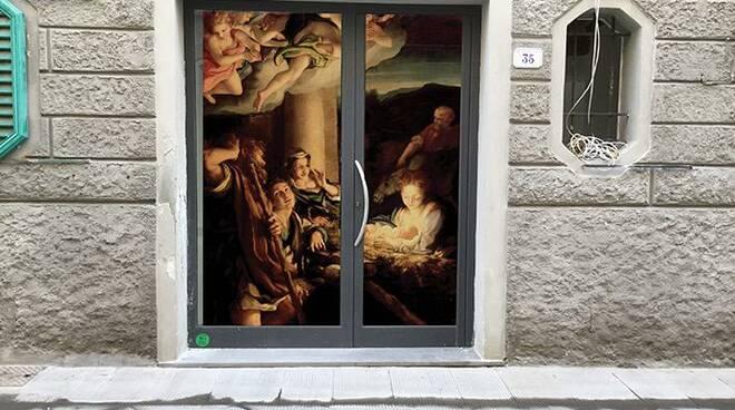 arte in vetrina a natale 2020 a castelfranco di sotto