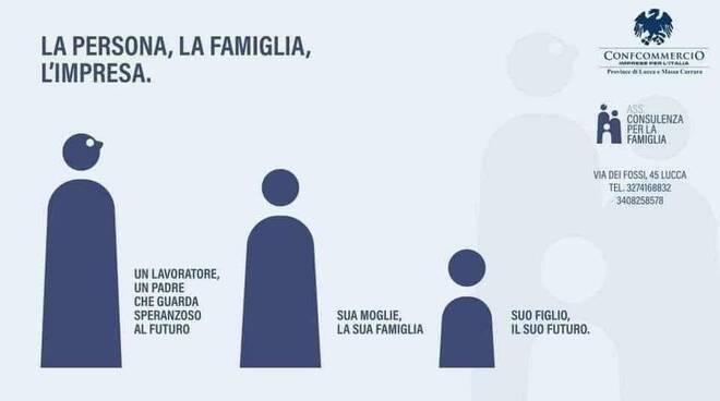 campagna confcommercio consulenza psicologica polemica Lucca