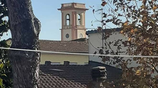 campanile torre del lago restauro