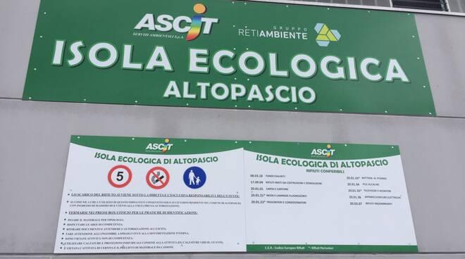 Centro di raccolta rifiuti Altopascio