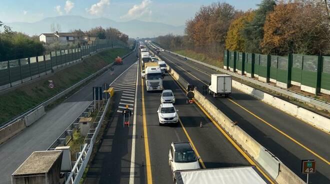 Code tra Altopascio e Chiesina per chiusura autostrada