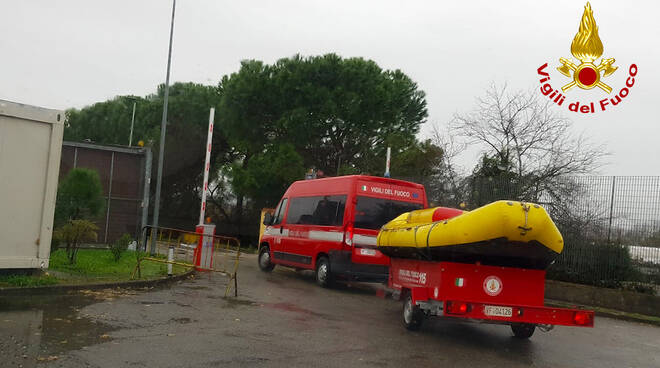 Colonna mobile pompieri