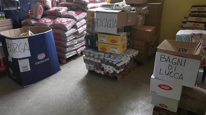 donazione generi alimentari