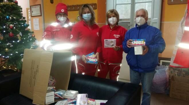 Donazione mascherine Bagni di Lucca Quinto Bernardi
