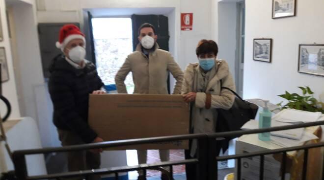 Donazione SiamoLucca Rsa Monte san Quirico