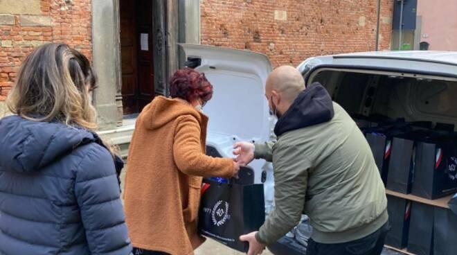 donazioni alla Caritas di Castelfranco di Sotto