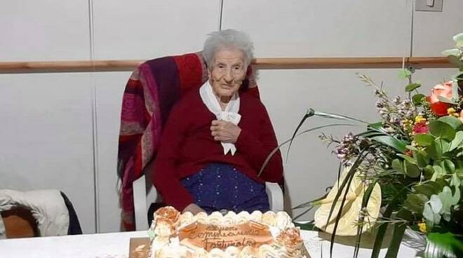 Fortunata 100 anni Staffoli