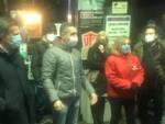 foto riunione commercianti Pontetetto viale San Concordio