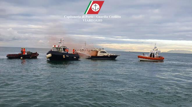 Guardia costiera esercitazione