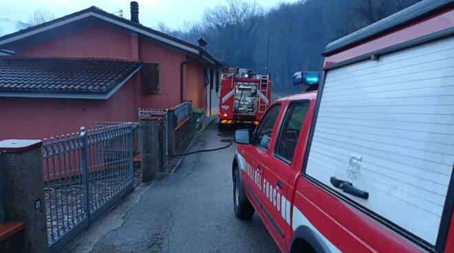 incendio bombola Gpl Torrite Castelnuovo
