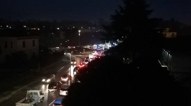 Incidente in viale Europa a Lucca