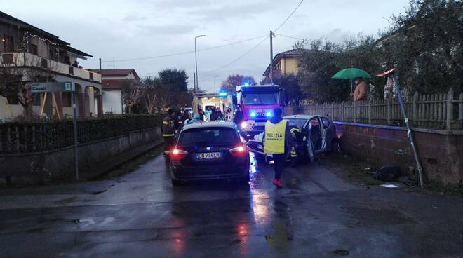 Incidente stradale ad Altopascio