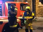 interventi dei vigili del fuoco per il maltempo
