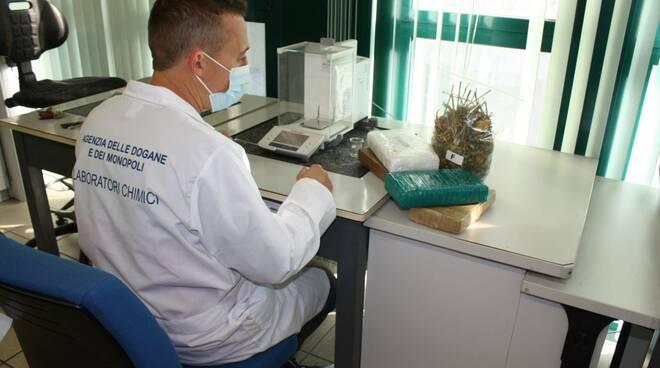 laboratorio analisi droge di Adm