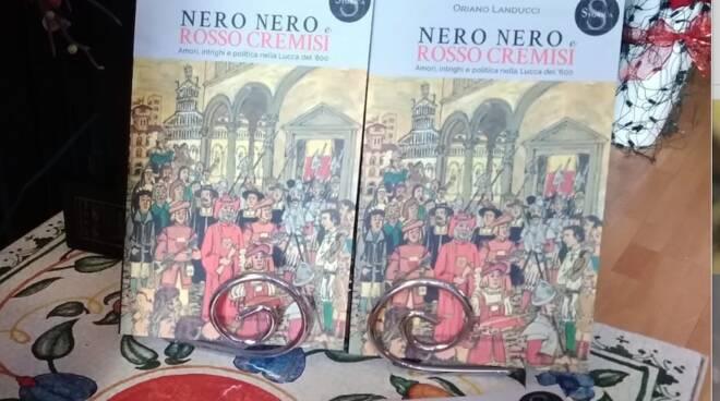 libro Oriano Landucci Nero Nero e Rosso Cremisi Mpf