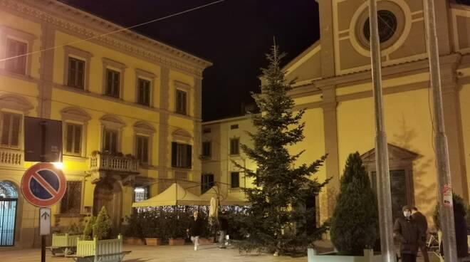 luci natalizie Santa croce sull'arno