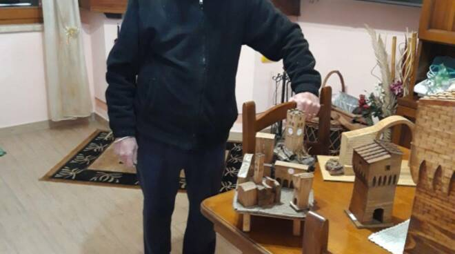 Luigi Veracini artigiano di San Miniato dona opera al museo civico