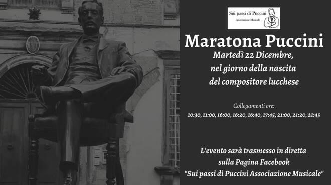 Maratona Puccini sui passi di Puccini