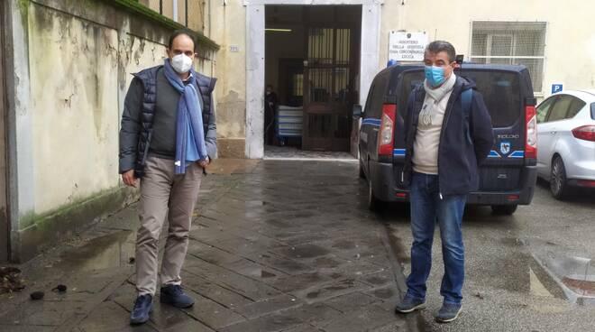 Marcucci e Baccelli in visita al San Giorgio