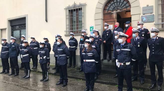 nuovi assunti nella Polizia Municipale dell'Unione dei Comuni dell'Empolese Valdelsa