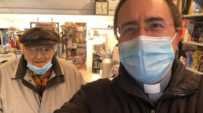 piero danti 100 anni san miniato con il vescovo