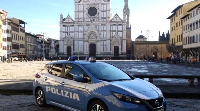 polizia firenze auto nuove