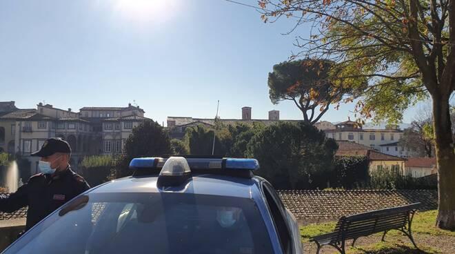 polizia Lucca mura