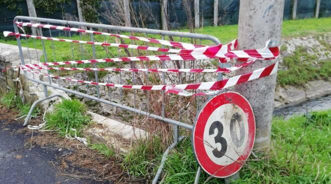ponte massarosa messo in sicurezza